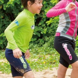 Lycra UV50+ protection for children