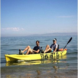 Fishing Kayaks with bike-propeller