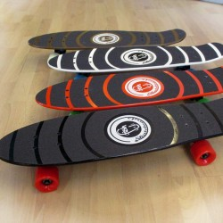 Wood cruiser skateboards 27''