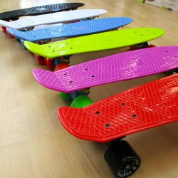 Plastic skateboards 22.5''