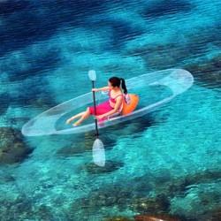 Transparent Canoe - Kayak