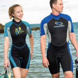 Neoprene wetsuits shorty