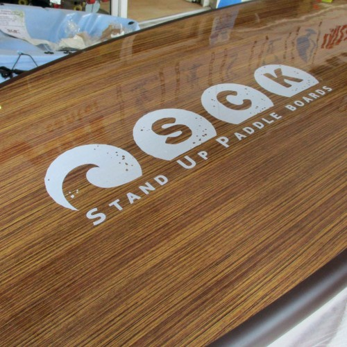 SCK SUP board 10'6'' Wood Grain