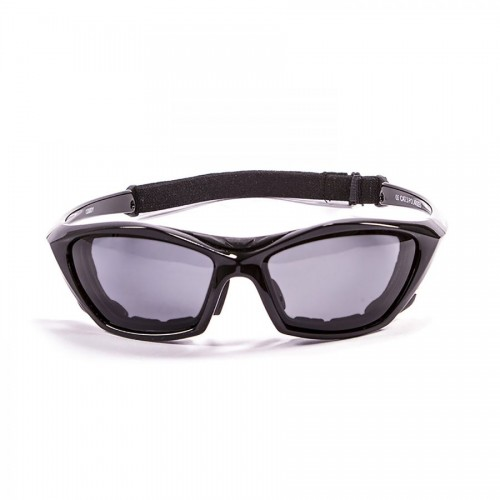 Ocean Sunglasses with polarized lens / Floating  / Black-Smoke lens
