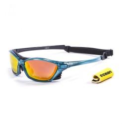 Ocean Sunglasses with polarized lens / Floating  / Lake Garda Blue-RevoRed