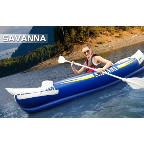 Inflatable kayak 1-2 person Savana Aqua Marina