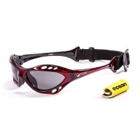 Ocean Sunglasses with polarized lens / Floating  / CUMBUCO / Red