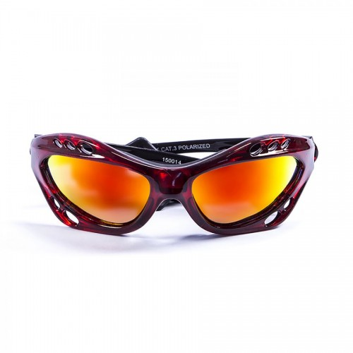 Ocean Sunglasses with polarized lens / Floating  / CUMBUCO / Red-RevoRed