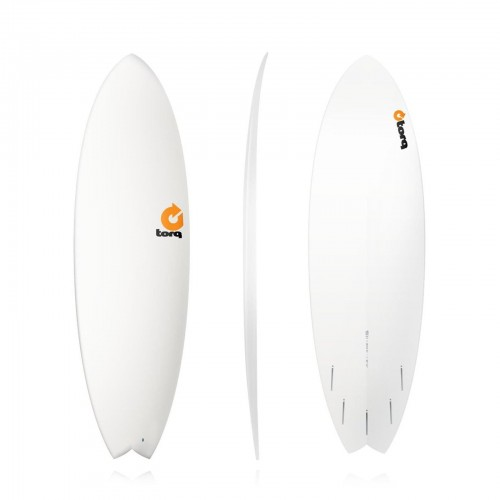 Surfboard Torq 6'3'' Epoxy TET Fish White