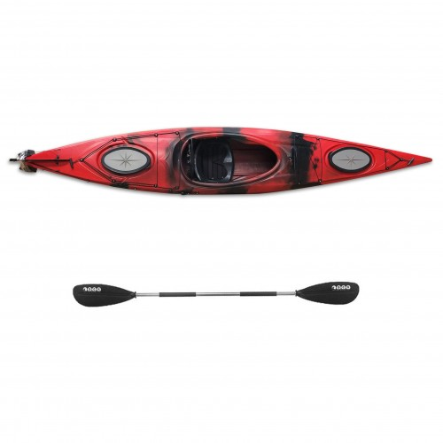 Dreamer single sit-in kayak by SCK with paddle