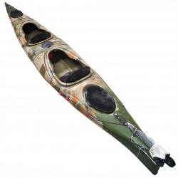 HUG sit-in kayak 2 person SCK with paddles Camo