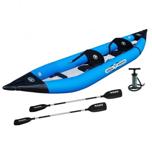 K2 - inflatable 2-seat sea kayak