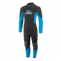 Wetsuit neoprene 2mm child/teen fullsuit V20 blue Aropec