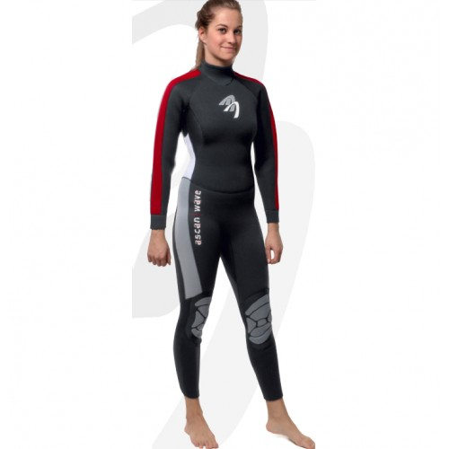 Ladies winter wetsuit 4/5mm Ascan