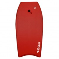 Bodyboard 42inch Red with wrist leash SCK