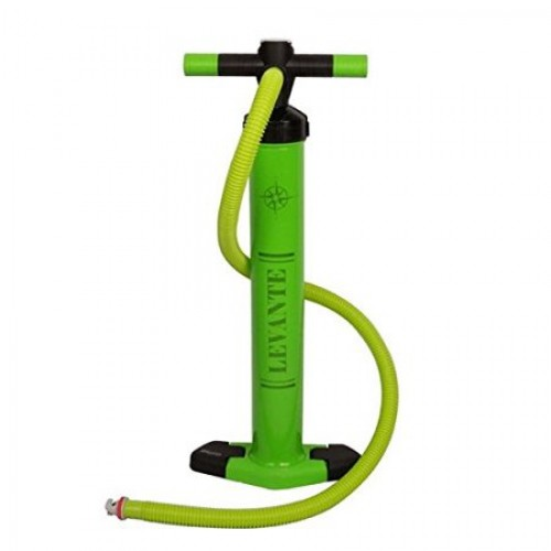 Hand pump duble action for inflatable SUP up to 29psi Bravo Levante