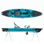 Cyclo 1 single seat bicycle kayak for fishing SCK black-blue