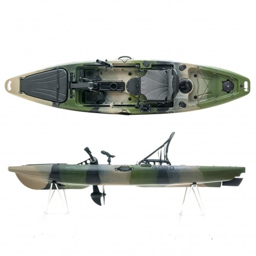 Cyclo 1 single seat bicycle kayak for fishing SCK Camo