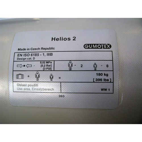 Helios 2θέσιο φουσκωτό καγιάκ