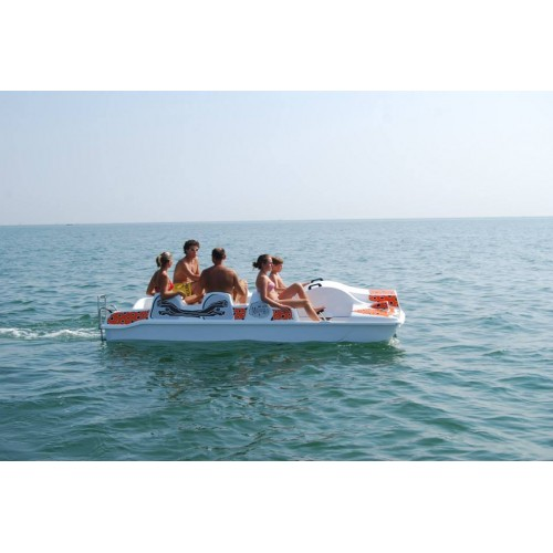 Pedal Boat Capri Motoro without the electric motor Centro Nautico Adriatico