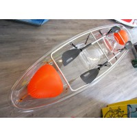 Transparent kayak 2-seat SERENUS 2