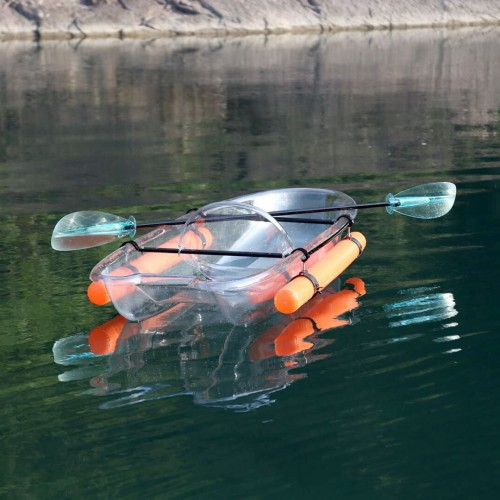 Transparent kayak 1 seat Serenus 1