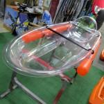 Transparent kayak 1 seat Serenus 1