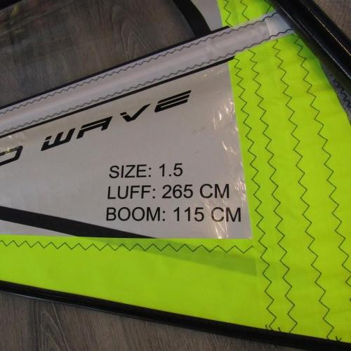 Windsurf Rig for kids 1,5 Side on