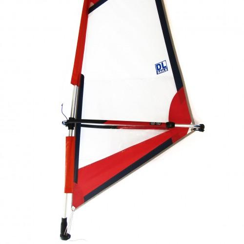 Windsurf Rig DL dacron sail 2.0 set