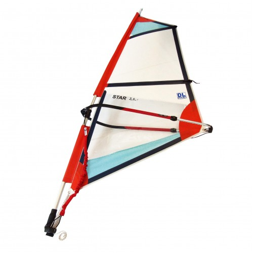 Windsurf Rig DL dacron sail 2.5 set