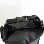 Waterproof bag 20L with back straps black