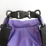 Waterproof bag 20L with back straps purple