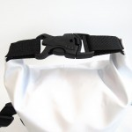 Waterproof bag 3L with waist straps white