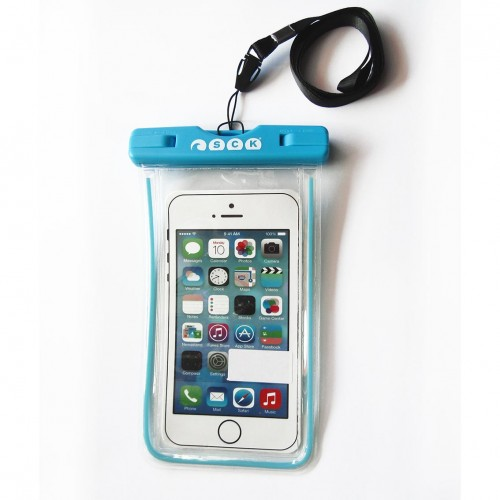 waterproof phone case SCK Blue