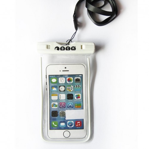 waterproof phone case SCK White