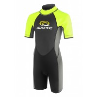 Aropec Youth 2.5mm Neon Yellow Spring Suit