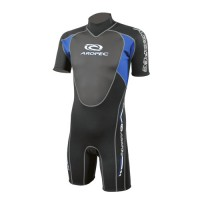 Shorty wetsuit Neoprene 3/2mm with Finemesh chest Aropec