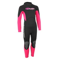 Wetsuit neoprene 2mm child/teen fullsuit pink Aropec