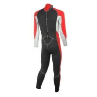 Wetsuit neopren 2,5mm fullsuit men red Aropec
