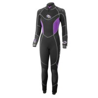 Neoprene Wetsuit 5mm lady Super-Stretchy & Semi-dry Aropec