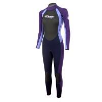 Wetsuit Finemesh/Nylon/Neoprene 3/2mm fullsuit Ladies Aropec