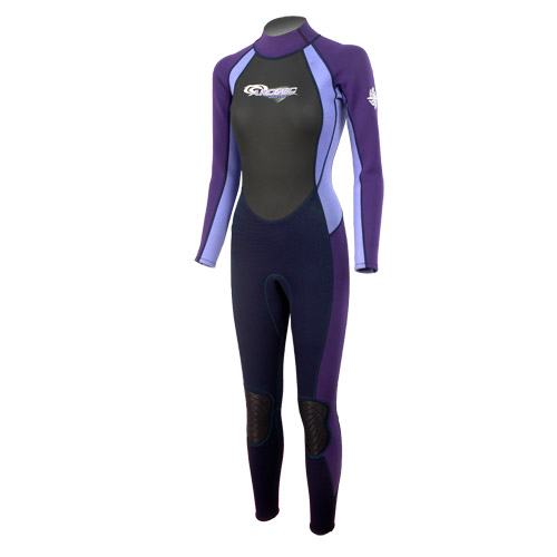 Wetsuit Finemesh/Nylon/Neoprene 3/2mm fullsuit Ladies Aropec