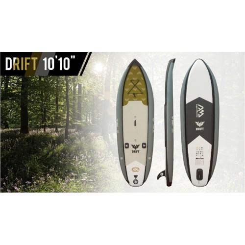 Φουσκωτό SUP Drift 10'10'' για ψάρεμα κομπλέ με το ψυγείο-κάθισμα