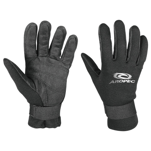 Amara gloves neoprene 2mm black Aropec
