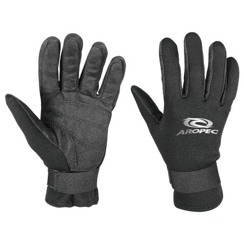 Γάντια Amara gloves νεοπρενίου 2mm μαύρα Aropec
