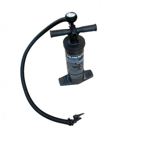 Hand pump to 15psi