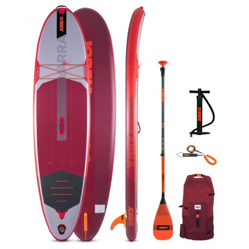 Jobe Inflatable SUP board 10'6'' Yarra Package - Red