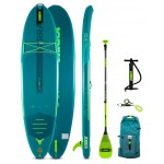 Jobe Inflatable SUP board 10'6'' Yarra Package - Teal Blue