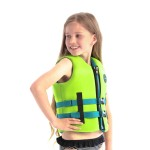 Jobe Neoprene Life Vest Kids Lime Green