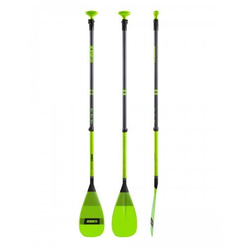 SUP Paddle Fiberglass Adjustable 180-220cm - Lime / Jobe